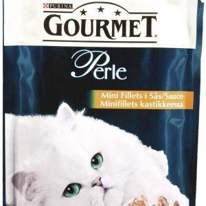 Purina Gourmet Perle 85 G Lohta Minifillets Kastikkeessa Kissanruoka