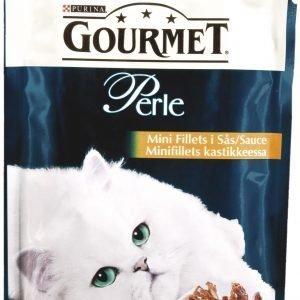 Purina Gourmet Perle 85 G Naudanlihaa Minifillets Kastikkeessa Kissanruoka
