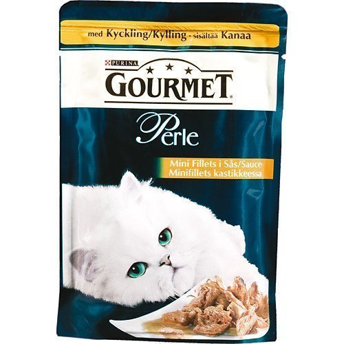 Purina Gourmet Perle Mini Fillets Kyckling 24x85g