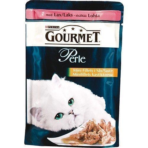 Purina Gourmet Perle Mini Fillets Lax 24x85g