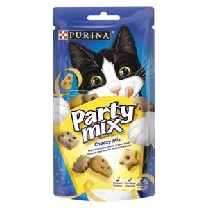 Purina Kissanherkku 60g Party Mix Cheezy Mix