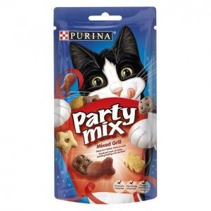 Purina Kissanherkku 60g Party Mix Mixed Grill