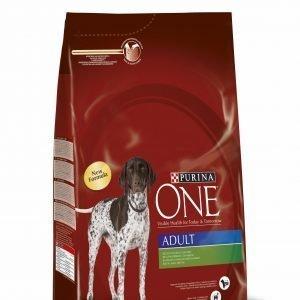 Purina One Adult 3 Kg Runsaasti Lammasta Koiranruoka