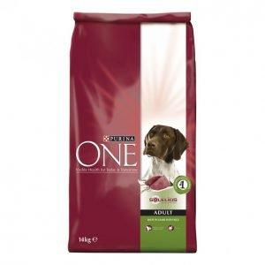 Purina One Koiranruoka 14kg Adult Lammas-Riisi