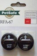 RFA-67 6V lithium paristo / tupla pakkaus