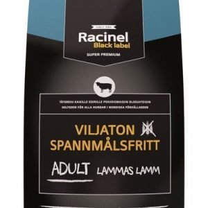 Racinel Black Label Adult Lammas 12 Kg