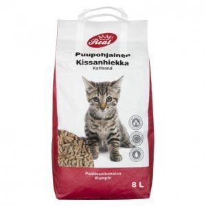 Real Cat Kissanhiekka 10l Pelletti