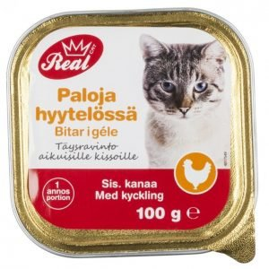 Real Cat Kissanruoka 100 G Kana