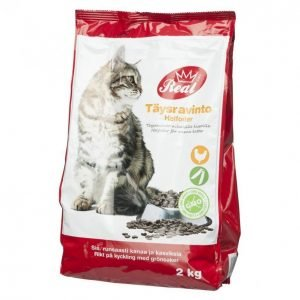 Real Cat Kissanruoka 2 Kg Adult Kana-Kasvis