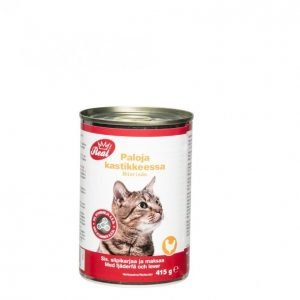 Real Cat Kissanruoka 415 G Lintu-Maksa