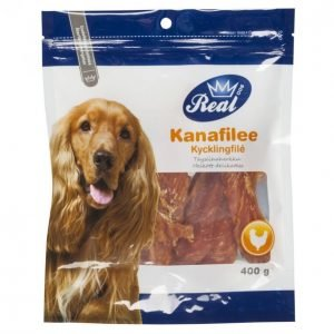 Real Dog Kanafilee 400 G Täysliha