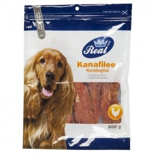 Real Dog Kanafilee 800 G Täysliha