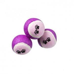 Real Dog Koiran Tennispallo 3 Kpl