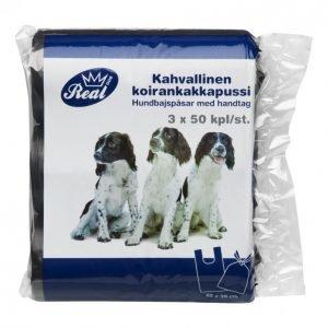 Real Dog Koirankakkapussi 3x50kpl
