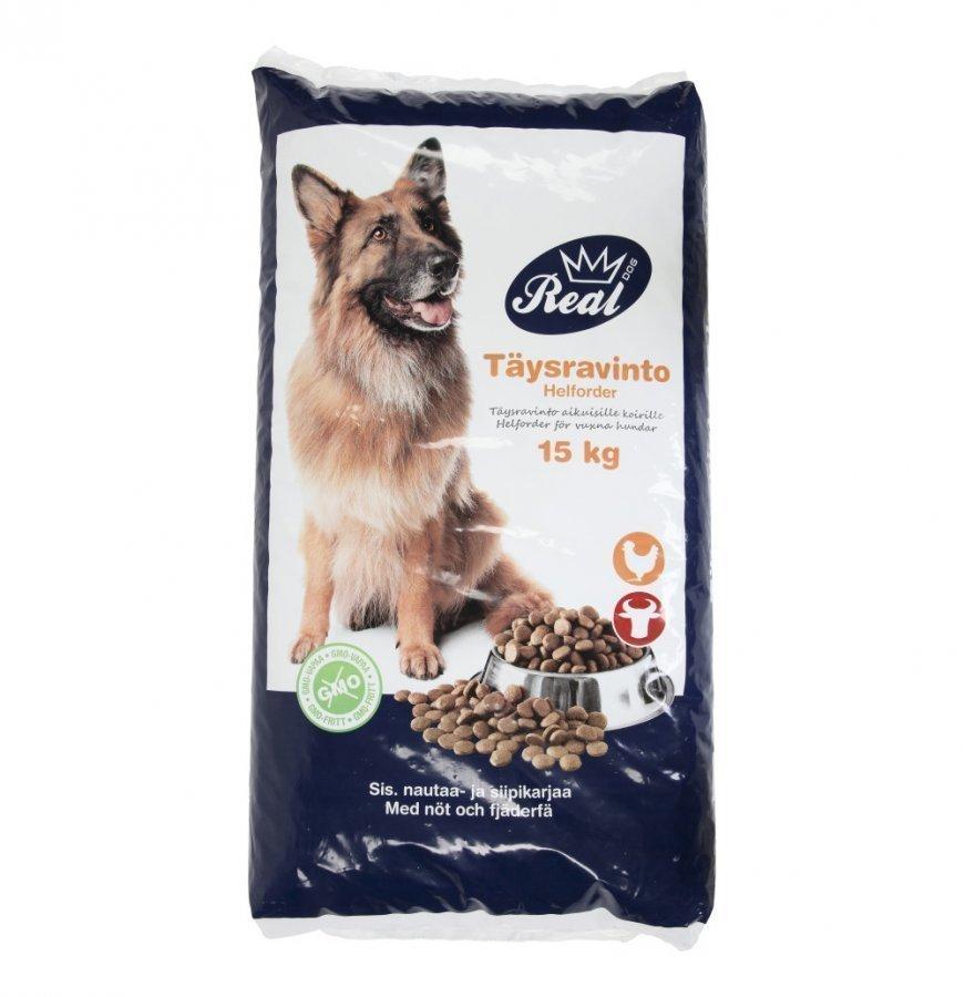 Real Dog Koiranruoka 15 Kg Adult Liha