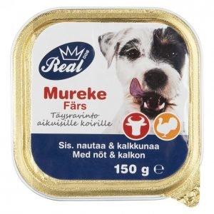 Real Dog Koiranruoka 150 G Adult Härkä-Kalkkuna