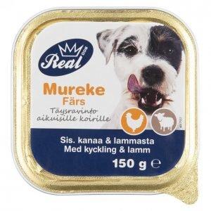 Real Dog Koiranruoka 150 G Adult Kana-Lammas