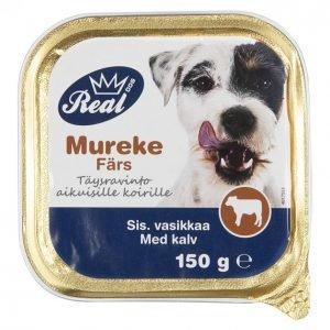 Real Dog Koiranruoka 150 G Adult Vasikka
