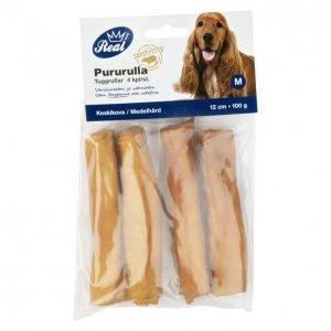 Real Dog Pururulla 12 Cm 4 Kpl 100 G