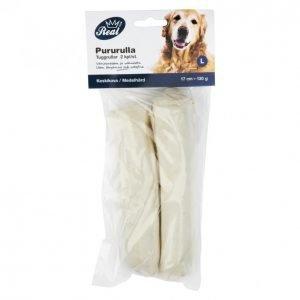 Real Dog Pururulla 17 Cm 2 Kpl Vaalea 130 G