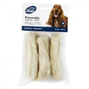 Real Dog Pururulla 3 Kpl 13 Cm Vaalea 105 G