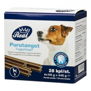 Real Dog Purutangot 28 Kpl Koko S