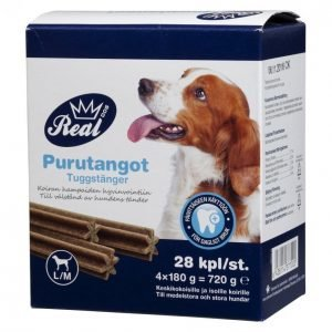 Real Dog Purutangot 28 Kpl M / L