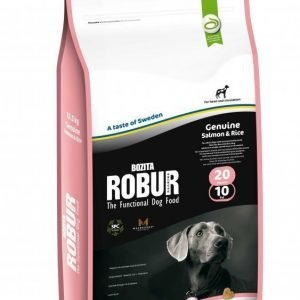 Robur Genuine Salmon & Rice 20 / 10 12