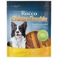Rocco Chings Double - säästöpakkaus: kana & lammas (2 x 200 g)