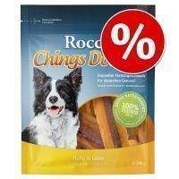 Rocco Chings Double -säästöpakkaus - kana & maksa (4 x 200 g)