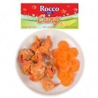 Rocco Chings Spring - suursäästöpakkaus: kana & porkkana (12 x 70 g)