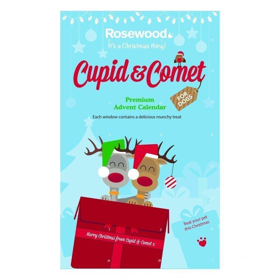Rosewood Cupid & Comet Julkalender Till Hund