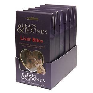 Rosewood Leap & Bounds Cat Duck Liver Bites 20g