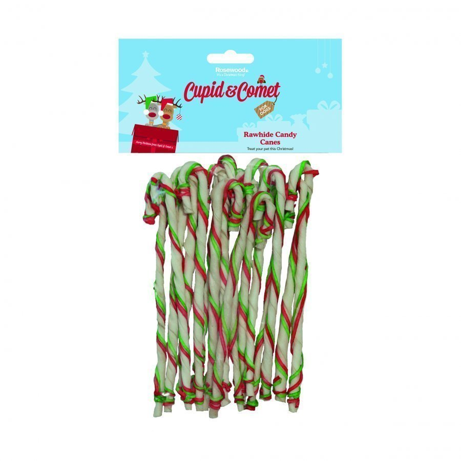 Rosewood Rawhide Candy Canes 16st