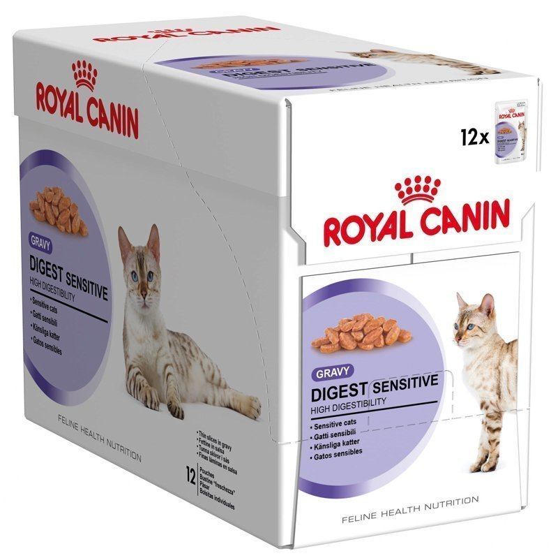 Royal Canin Digest Sensitive In Gravy 12x85 G