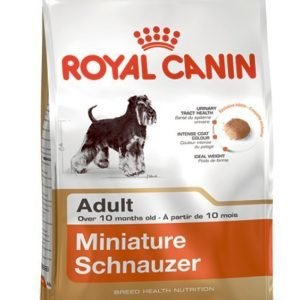 Royal Canin Dog Miniature Schnauzer Adult 7.5kg