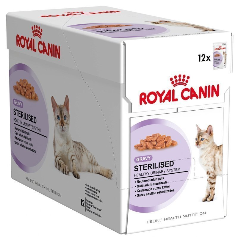 Royal Canin Feline Sterilised In Gravy 12x85 G