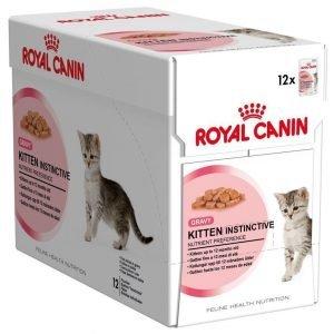 Royal Canin Kitten Instinctive In Gravy 12x85 G