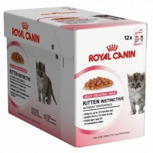 Royal Canin Kitten Instinctive In Jelly 12x85 G