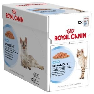 Royal Canin Ultra Light In Gravy 12x85 G