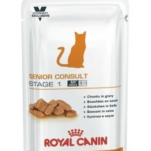 Royal Canin Vec Senior Consult Stage 1 Pouch 12x100g