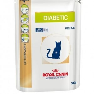 Royal Canin Veterinary Diets Cat Diabetic Pouch 12x100 G