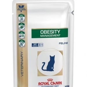 Royal Canin Veterinary Diets Cat Obesity Pouch 12x100 G