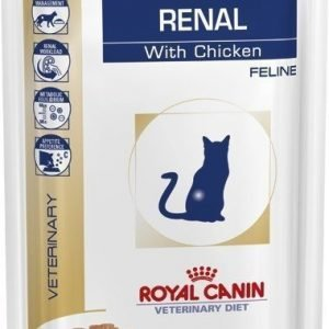 Royal Canin Veterinary Diets Cat Renal Chicken Pouch 12x85 G