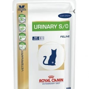 Royal Canin Veterinary Diets Cat Urinary S / O Chicken Pouch 12x100 G