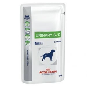 Royal Canin Veterinary Diets Dog Urinary S / O Pouch 10x150 G