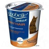 Sanabelle Snack Shiny Hair - säästöpakkaus: 3 x 150 g