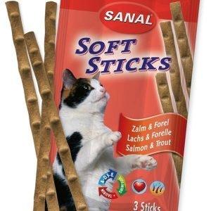 Sanal Soft Sticks Lohi & Purotaimen 3 Tikkua