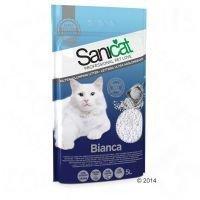 Sanicat Bianca -kissanhiekka - 3 x 5 l