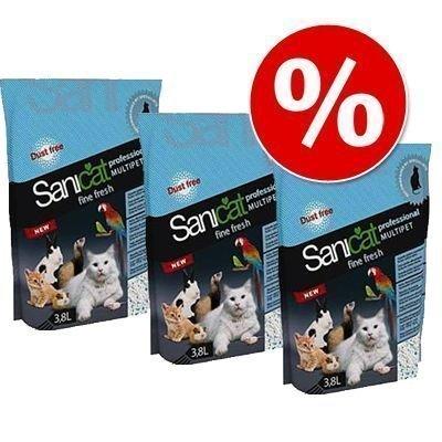 Sanicat Multipet Fine Fresh -säästöpakkaus